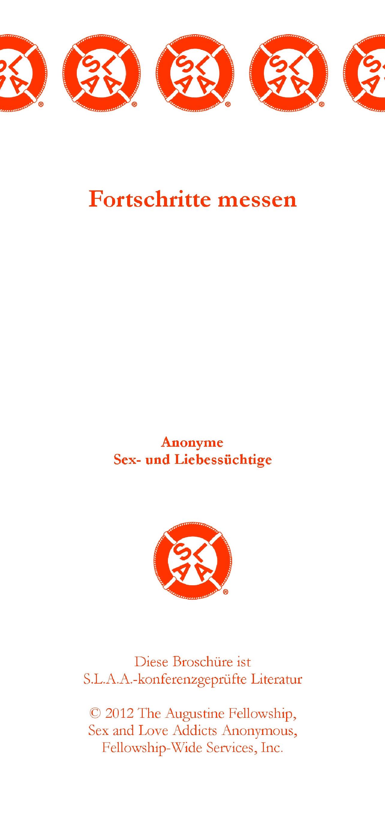 Literatur und Informationen | SLAA Österreich