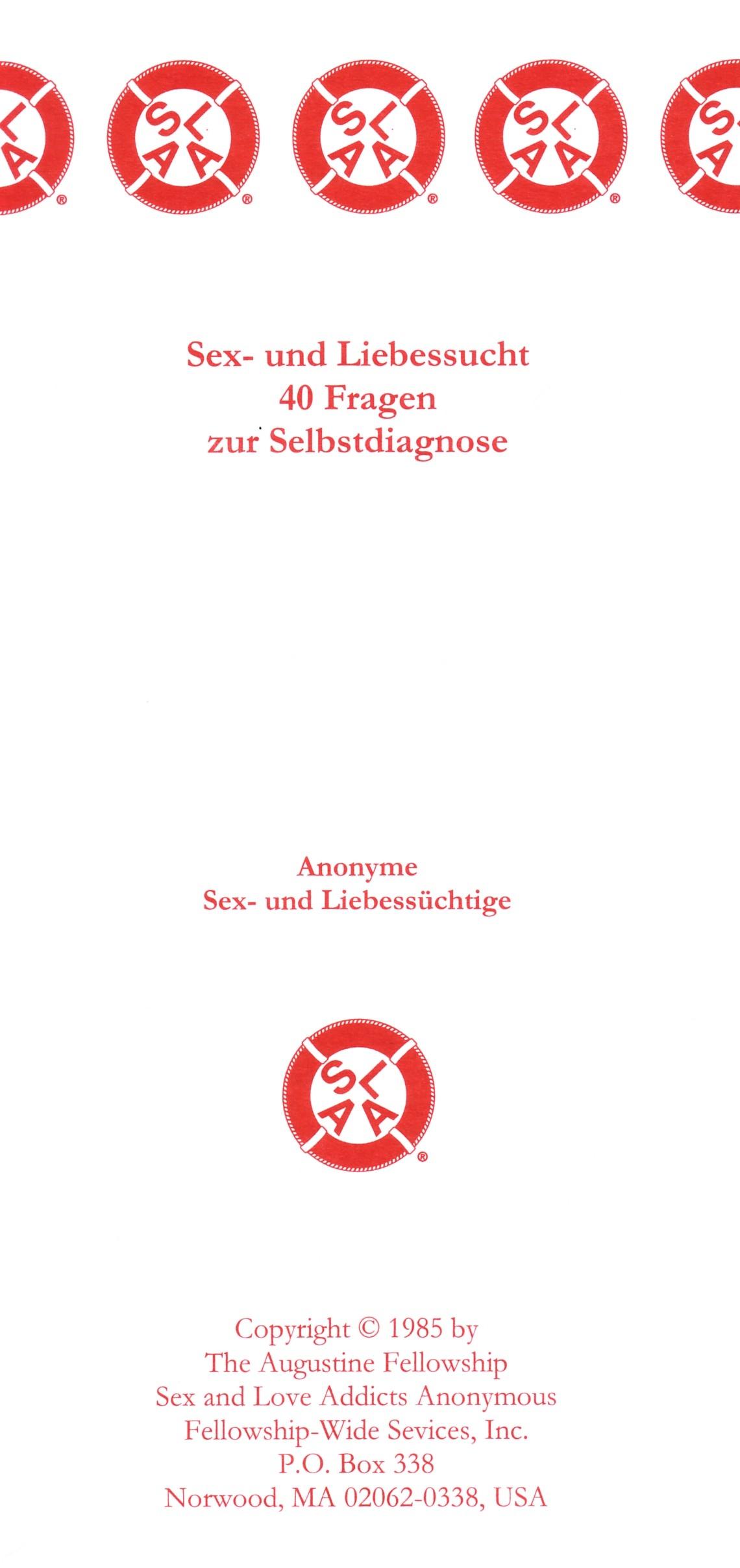 Literatur und Informationen | SLAA Schweiz